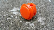 Spieltaster Pushbutton 30mm Farbe Orange