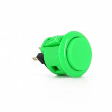 Sanwa OBSF-24 Spieltaster / Pushbutton in Grün, 24mm
