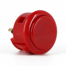 Spieltaster Pushbutton 30mm Farbe Rot Sanwa OBSF-30