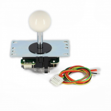 Joystick Sanwa JLF in color white