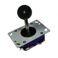 zippy joystick in black with long shaft