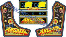 ArcadeForge Arcade Compact DIY Full Kit Widebody Bartop for MAME, Hyperspin, Retropie, Raspberry Pi