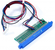 Jamma Adapter for cga2vga scaler PCB
