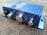 Amplifier with Enclosure