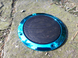 Speaker Cover grill, turquoisecolor, ideal for ArcadeForge Bartop