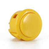 Spieltaster Pushbutton 30mm Farbe Gelb Sanwa OBSF-30