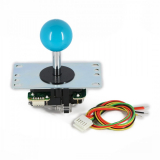 Joystick Sanwa JLF in color blue