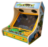 Bartop Galaxian Artwork