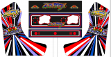 Bartop Artwork Galaga Widebody