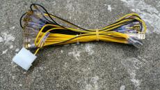 12V LED Verkabelung für beleuchtete Spieltaster