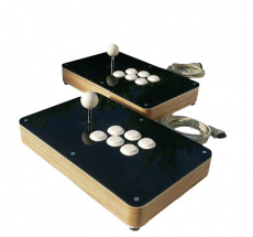 Custom Wood Arcade Fight Stick for PS4, PS3, xbox360, Supergun, Neogeo or PC