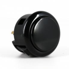 Spieltaster Pushbutton 30mm Farbe Schwarz Sanwa OBSF-30