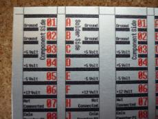 Jamma Connector Sticker