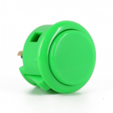 Pushbutton 30mm Color Green Sanwa OBSF-30