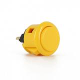 Sanwa OBSF-24 Spieltaster / Pushbutton in gelb, 24mm