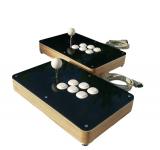 Custom Wood Arcade Fight Stick für PS4, PS3, xbox360, Supergun, Neogeo oder PC