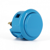 Spieltaster Pushbutton 30mm Farbe Blau Sanwa OBSF-30