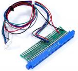 Jamma Adapter for cga2vga scaler PCB